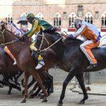 Palio di Siena: Vince laTartucaconRemorex, il cavalloRaoulfinisce in ospedale