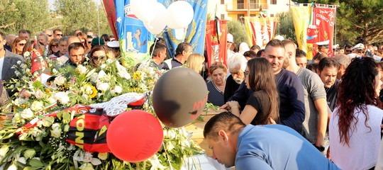 funerali vittime alluvione calabria