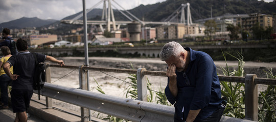 Genova testimonianza crollo ponte Morandi