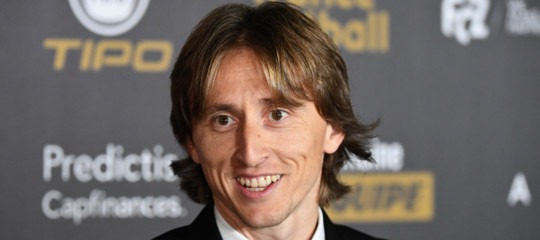 Pallone d'Oro Modric classifica social