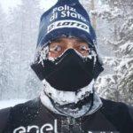 Correre 40 chilometri a -52° e restare vivi, l'impresa di PaoloVenturini