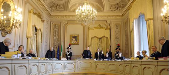 Manovra Corte costituzionale no ricorsoPd