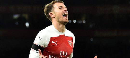 Calcio Ramsey alla Juventusper quattro anni