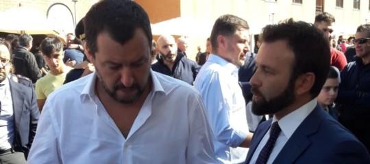 Polizia: Salvini traselfiee mitragliette al quarantesimo anniversario deiNocs