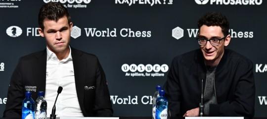 CaruanacontroCarlsen, via al mondiale di scacchi tra i due giovani talenti