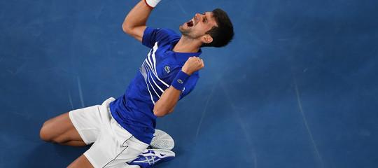 Tennis:DjokovicdominaNadale vince Open Australia