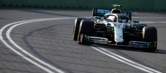 australia Bottas Mercedes Ferrari