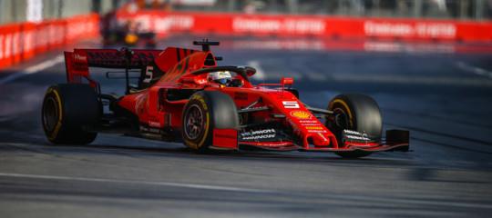 F1Baku Mercedes ferrari
