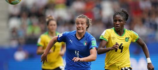 mondiali donne italia Giamaica