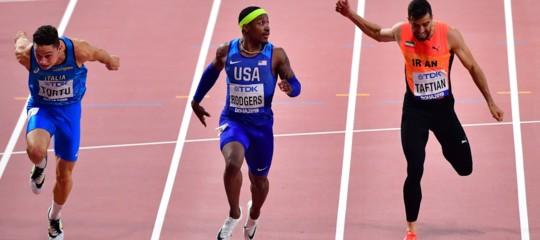 tortu mondiali atletica finale 100 metri