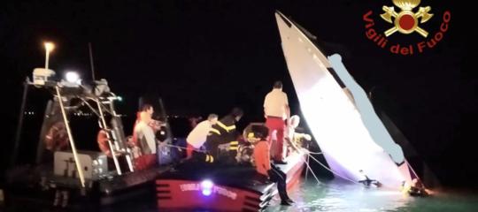 offshore contro diga venezia morto buzzi