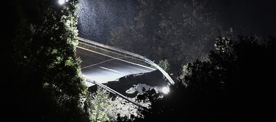 maltempo viadotto crollato