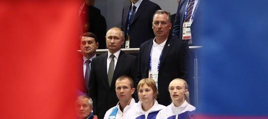 russia squalifica olimpiadi doping