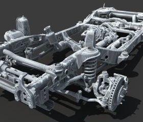 Telaio auto